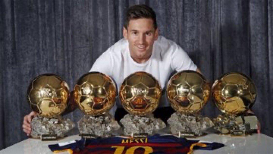 Balón de Oro 2019 Leo Messi !!!!!!! Otro más