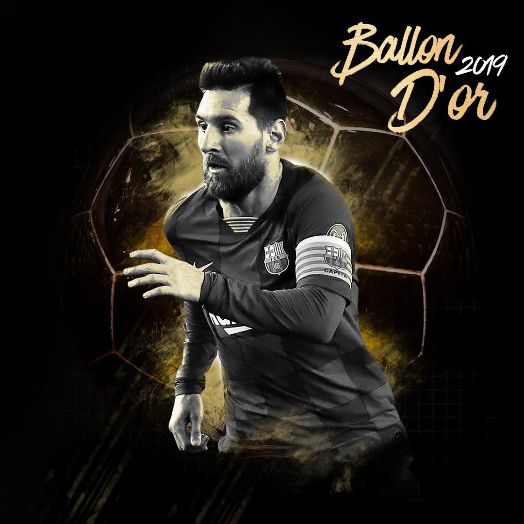 RT @ChampionsLeague: 🔵🔴 Congratulations Leo Messi, #BallonDor2019 winner! 🥇🏆  #UCL | #ballondor https://t.co/ysIA9lqBpx