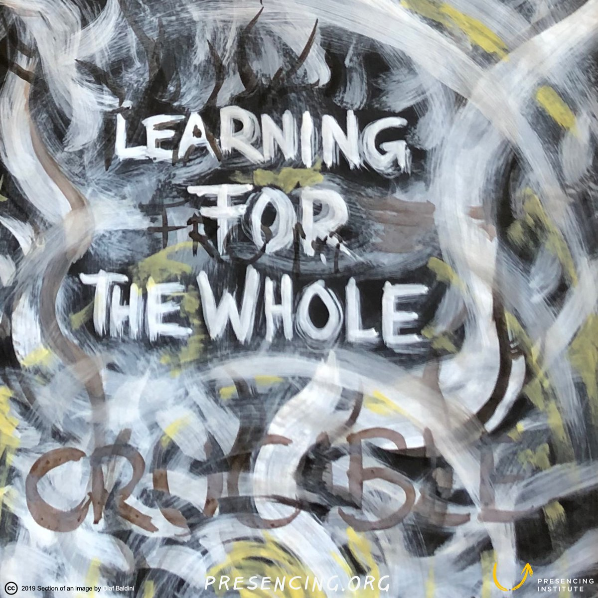 Learning for from the whole... #payitforward @presencing_inst bit.ly/35YD6j8 Image: #OlafBaldini