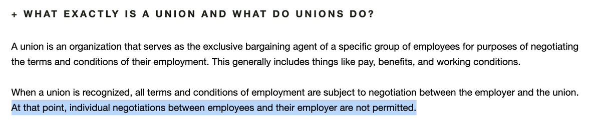hearst has decided that the best way to union bust is to straight up lie to its employees https://www.yourrights.hearst.io/frequently-asked-questions…