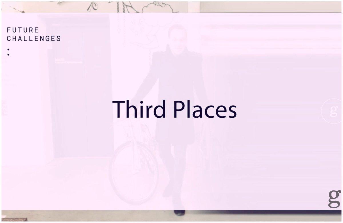Future Challenges: Third places? About the change in work environments. ;-) Watch now: https://vimeo.com/260995844 #digitization #gannaca #future #thinktank #ideas #futurechallenges #work #hotels #conceptstore #coworking #25hourshotel #bikini #berlin #futuristpic.twitter.com/QhIlvxjm5o