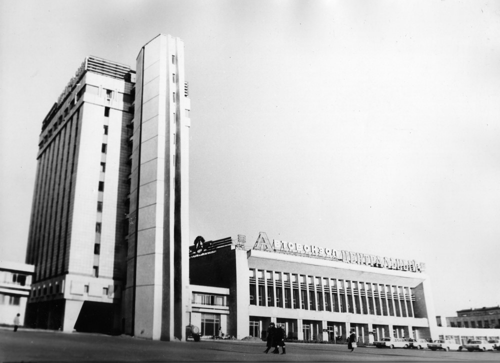 Самара старый автовокзал фото