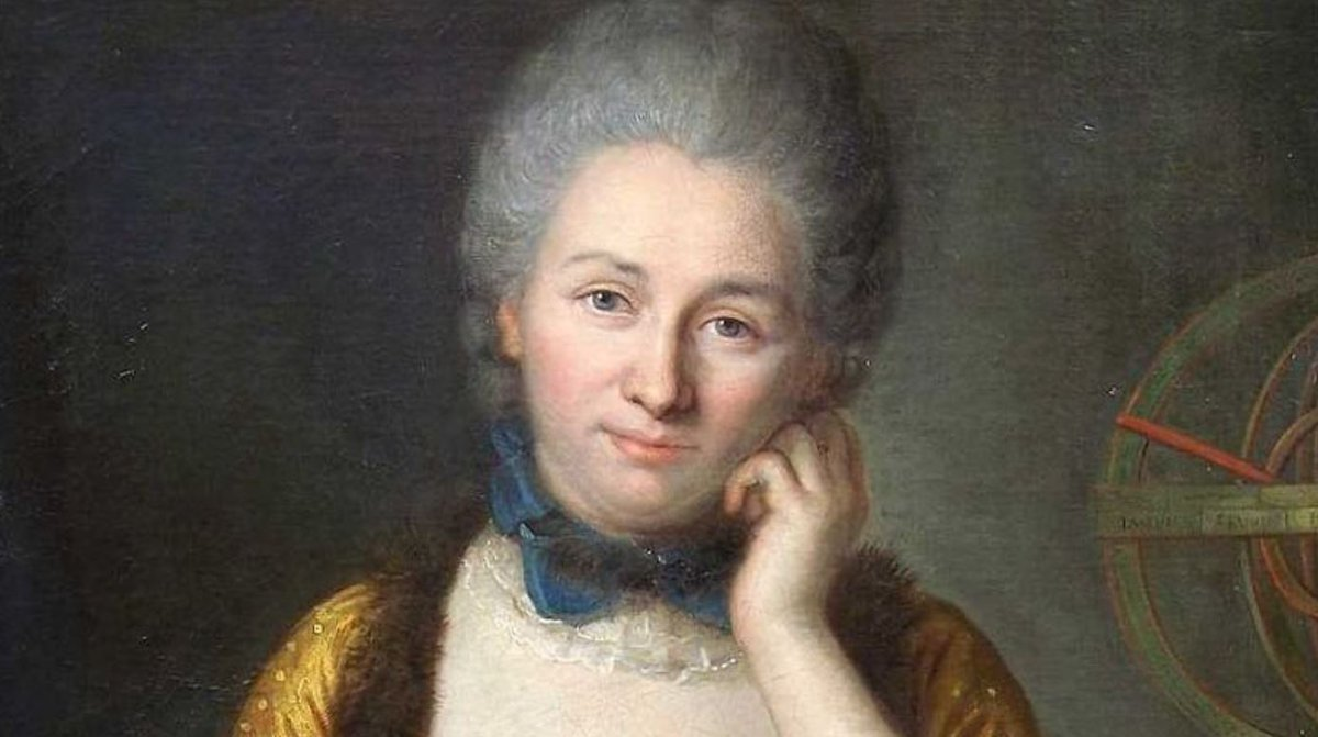 Émilie du Châtelet, was born #OnThisDay in 1706. Her translation of Newton's Principia is still considered the standard translation in France and she was a respected confidant of Voltaire. https://t.co/VMcZb3Ute5