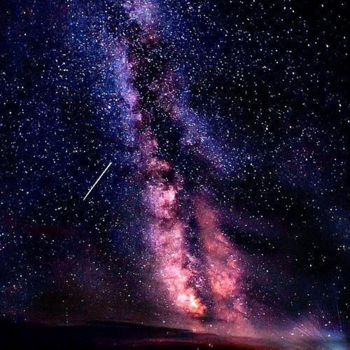 Звездное небо картинки вертикальные