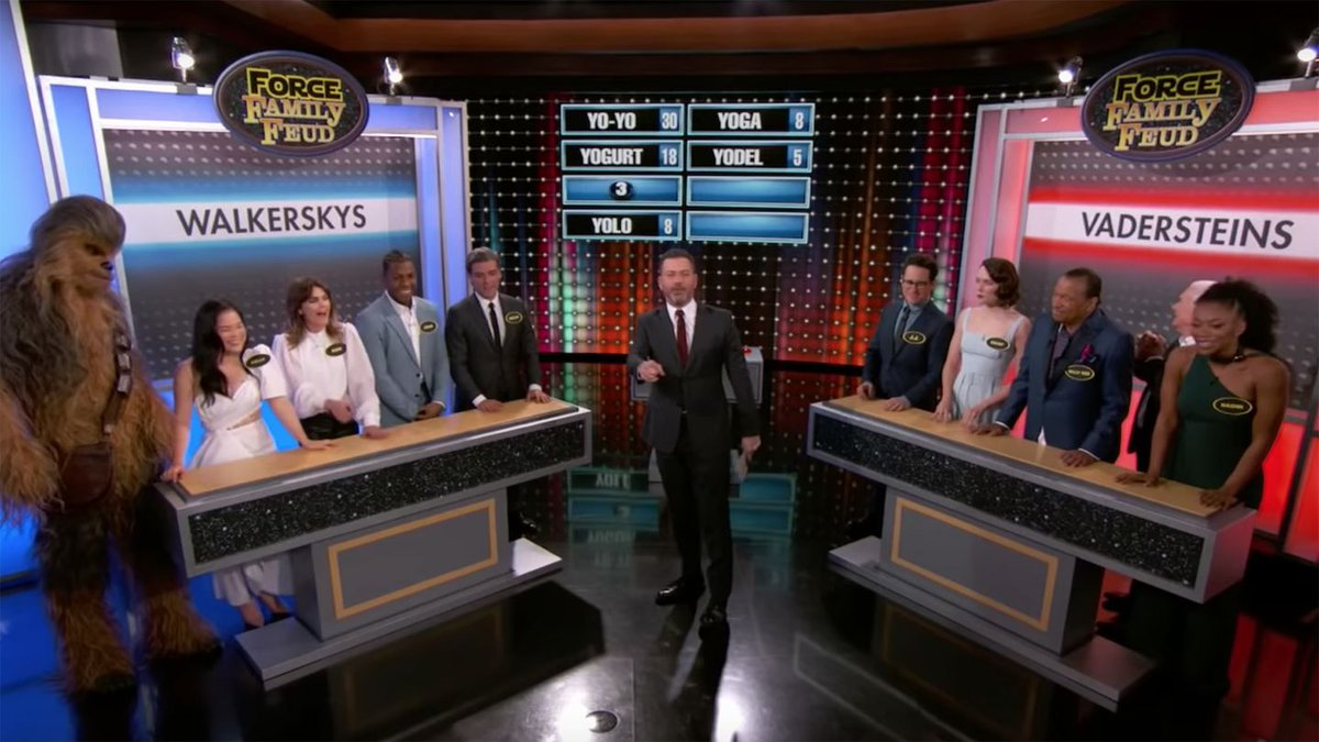The Star Wars cast plays 'Family Feud' and things get very sweary, very