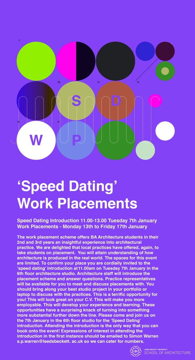 Speed Dating Lees University
