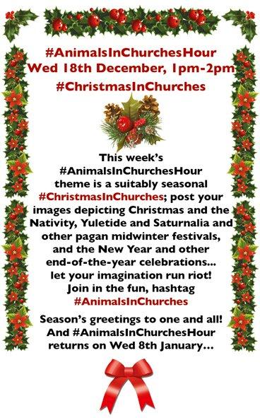 #AnimalsInChurches #ChristmasInChurches @johnevigar @pacoulmag @stiffleaf @MorleyRA @Wuzmi @sarahjigpoon @DEmiliopics @DrJACameron @last_of_england @ArtGuideAlex @Rach_Arnold @bwthornton @cotentinologue1 @DrFrancisYoung @Emma_J_Wells @FRH_Europe @Moodyarchive