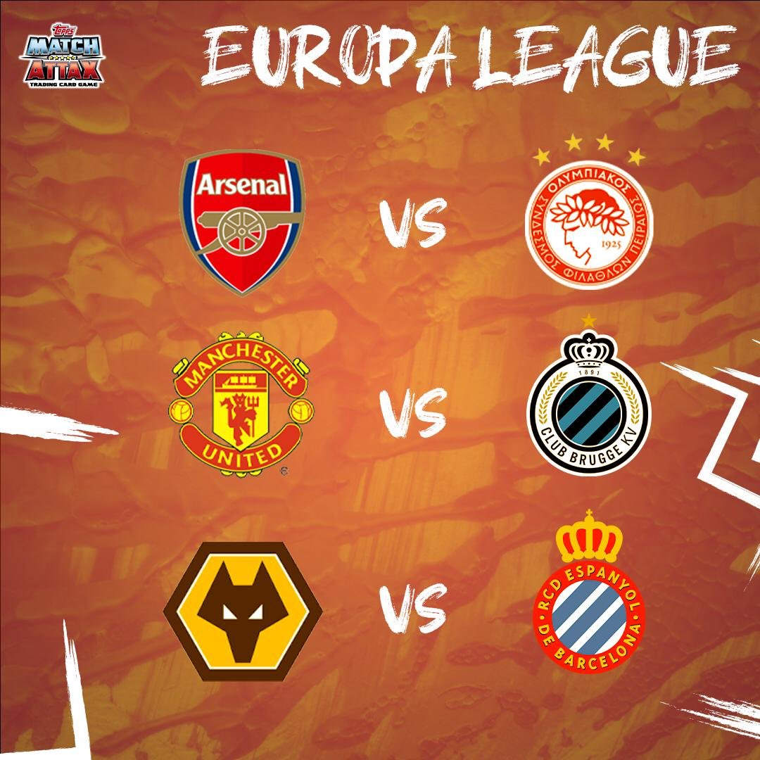 What do you think of the #europaleague draw?  Who do you think will win? #arsenal #manutd #wolves #intermilan #ajax #fcsalzburg pic.twitter.com/9zr08aUJ4c