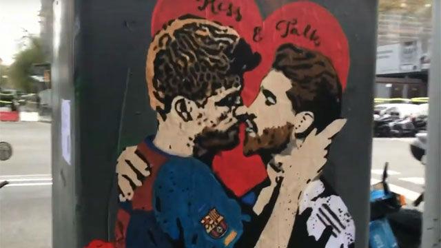 Gerard Piqué y Sergio Ramos protagonizan una imagen viral.