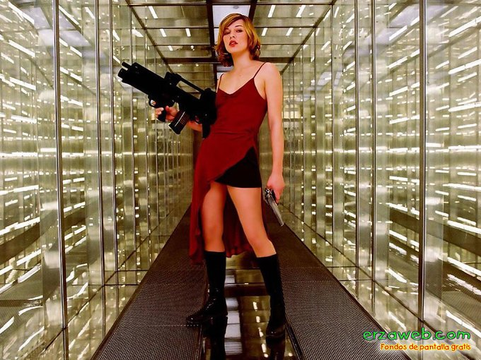 Horror Birthday: Happy 44th Birthday to the star of the Resident Evil series, Milla Jovovich.
