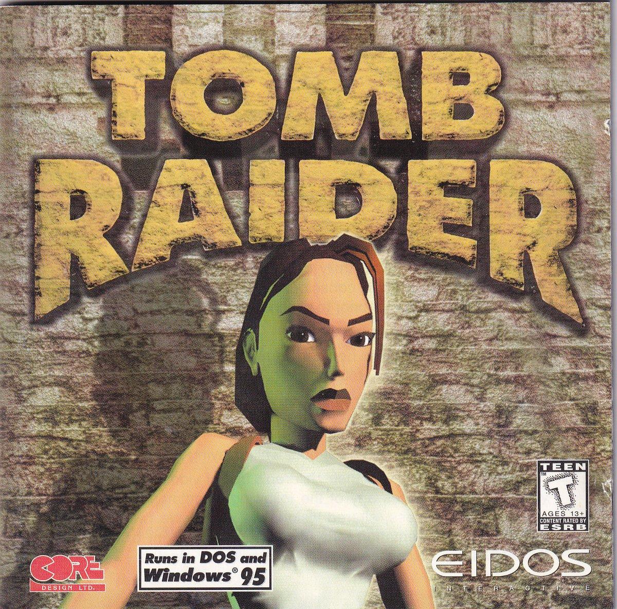Eidos Tomb Raider (MSDOS)(1996)(Eng)   https://archive.org/details/Eidos_Tomb_Raider_MSDOS_1996_Eng…pic.twitter.com/8sSbrLpajf