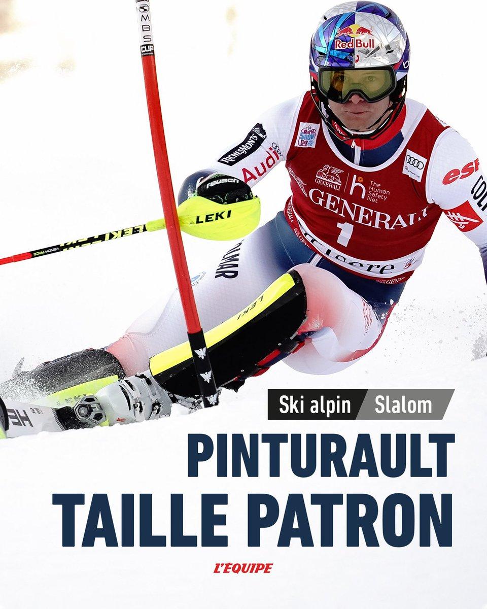 Alexis Pinturault remporte le slalom de Val dIsère.
