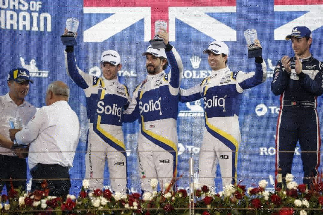 We have reached the mid point of the Championship. 3 Podiums so far out of 4 races.  Solid clousure of the year 🏆 With a 2nd place at the 8h of Bahrain 🇧🇭 Proud of our team effort @afelixdacosta @antdavidson & @jota_sport   Looking forward to our next race in February in Austin.