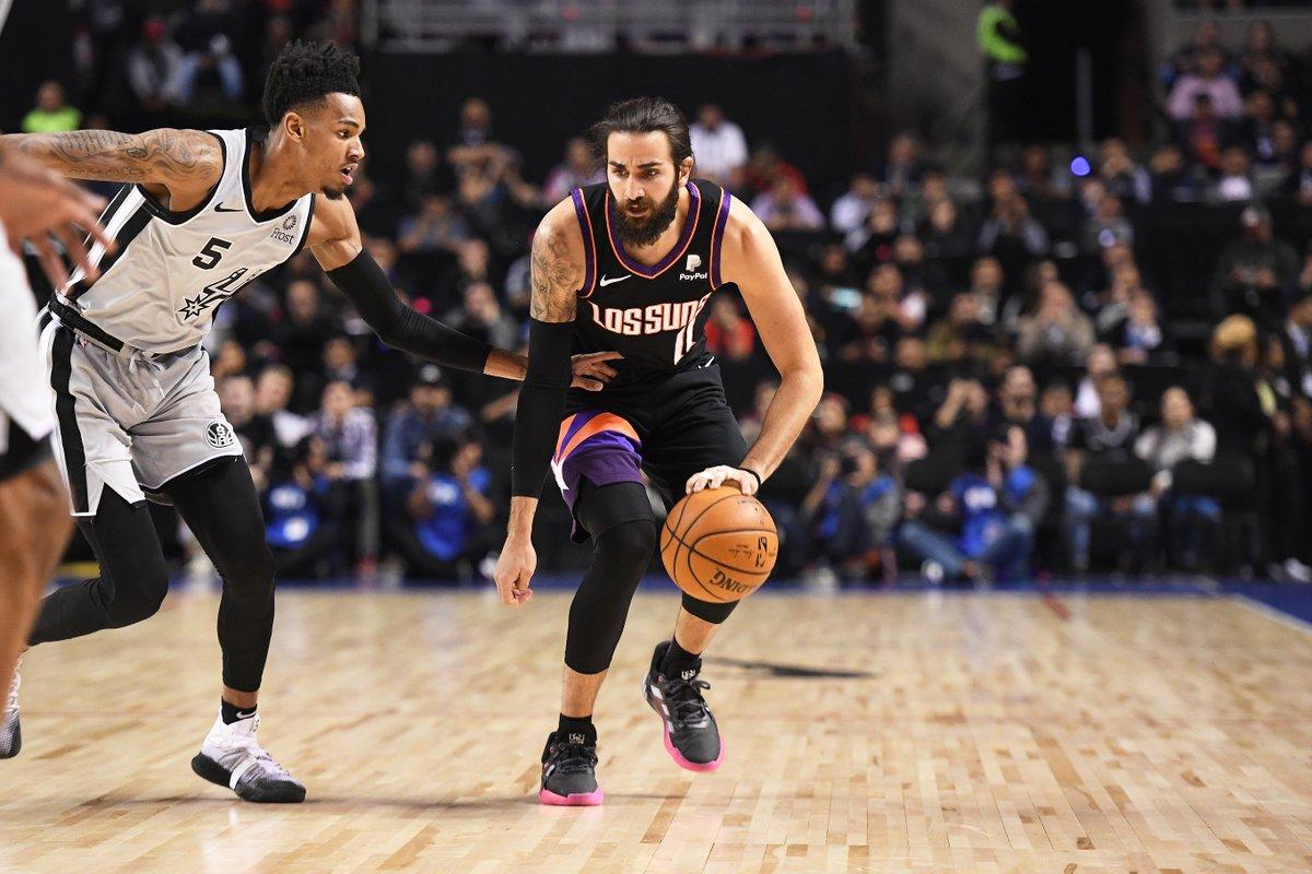 ☀️ 25 PTS & 13 REB per @rickyrubio9 che nella sfida dell'#NBASaturdays ha tagliato il traguardo dei 4.000 assist #NBA!!  👏👏👏  @Suns | #RisePHX