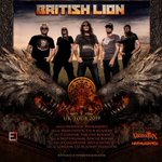 Image for the Tweet beginning: Steve's tour with British Lion