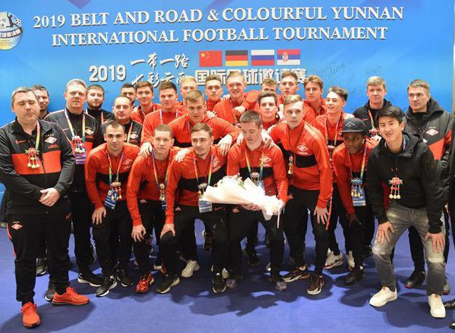 «Спартак-2» на турнире в Китае уступил «Црвене Звезде-2»
