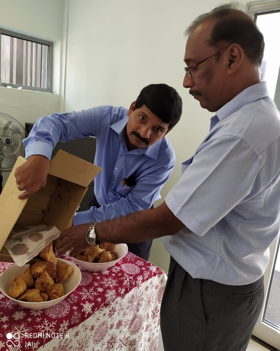 #christmastimeagain - we were getting serious at the #German #Consulate #General in #Chennai last week! #Christmas2019 #Xmas #cookies #lebkuchen #zimtsterne #rudolphtherednosedreindeer