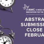 Image for the Tweet beginning: Have you submitted an abstract