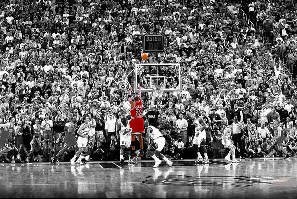 Michael Jordan  Last Shot MJ G.O.A.T.🐐  #BullsNation #NBA #Time2Rise #NBATwitter