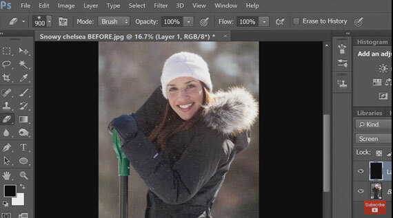 Low Light Photo Blog: http://PictureCorrect.com : How to Create Snow in Photoshop #photography #lowlight pic.twitter.com/z10NqA6xyh