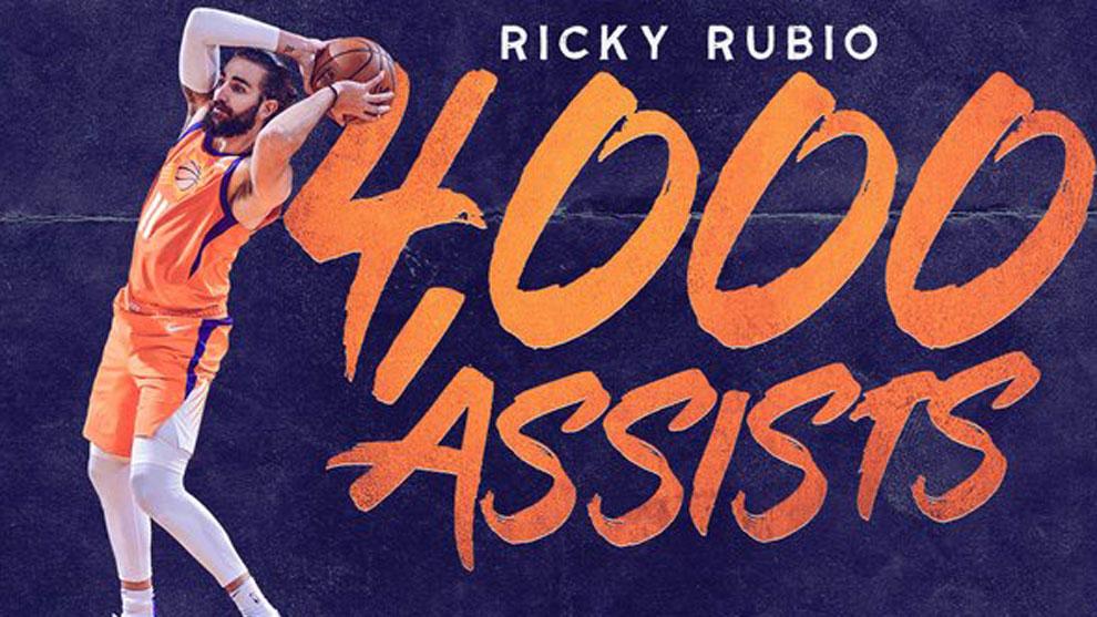 """El cuatro veces milenario @rickyrubio9: """"Sin victoria estas marcas así no se disfrutan tanto"""" #NBA #NBAMexicoCityGames #RisePHX https://www.marca.com/baloncesto/nba/2019/12/15/5df60398268e3eb21e8b45c2.html…"""