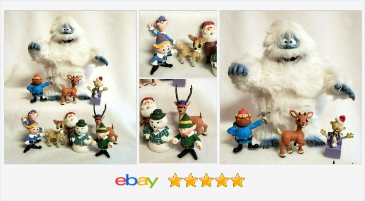 Rudolph the Red Nosed Reindeer Figures Bumble Elves 11 pc   eBay #rudolph #rudolphtherednosedreindeer   (Tweeted via )