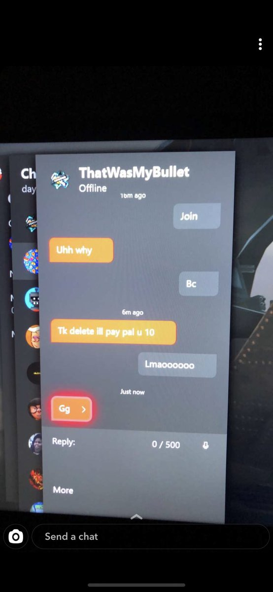 This dude was willing to text my friends to TEAMKILL ME SO HE WOULDNT HAVE TO FACE ME LMFAO ON A CASUAL?!!!??? I only dropped 11 that's IT it's not that serious pic.twitter.com/W3xh6dYxJm