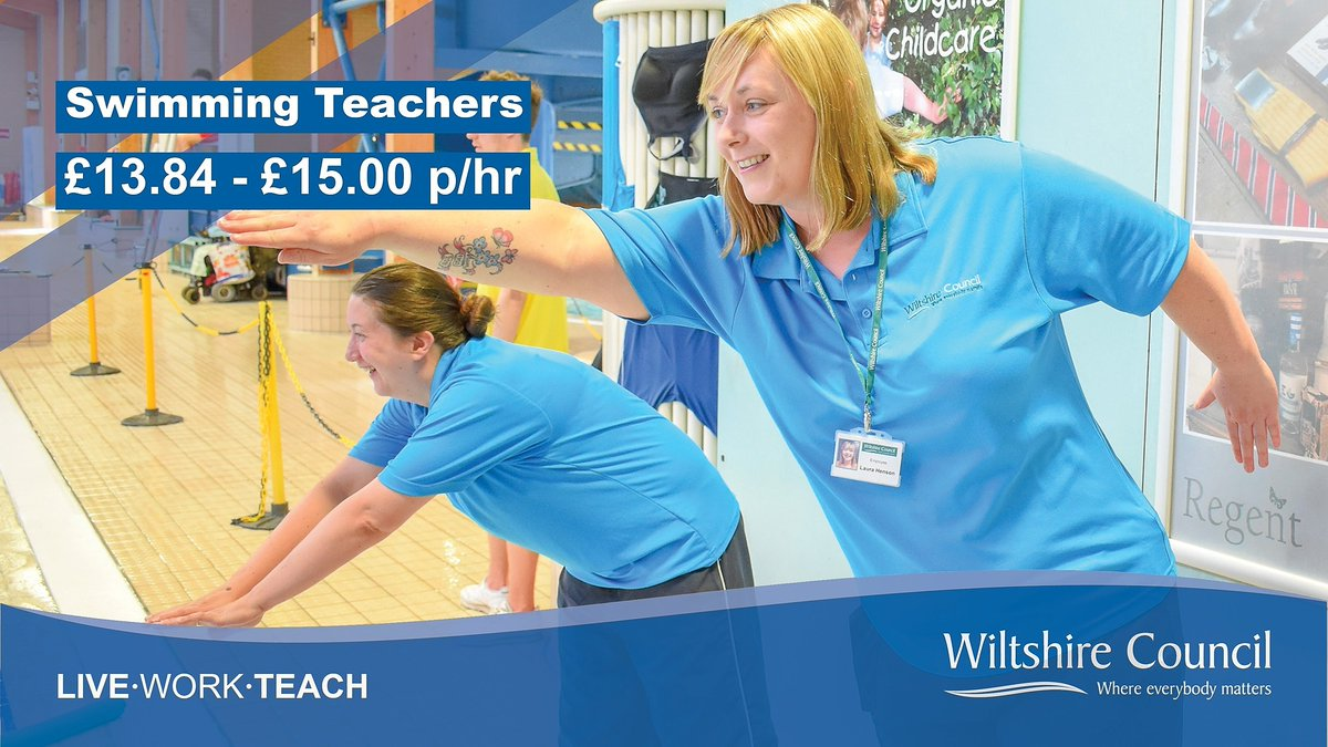 We're looking for qualified Swimming Teachers to join us at different leisure centres across the county!  If you have experience teaching children in a leisure environment, click here and discover how you could #LoveWhereYouWork:
