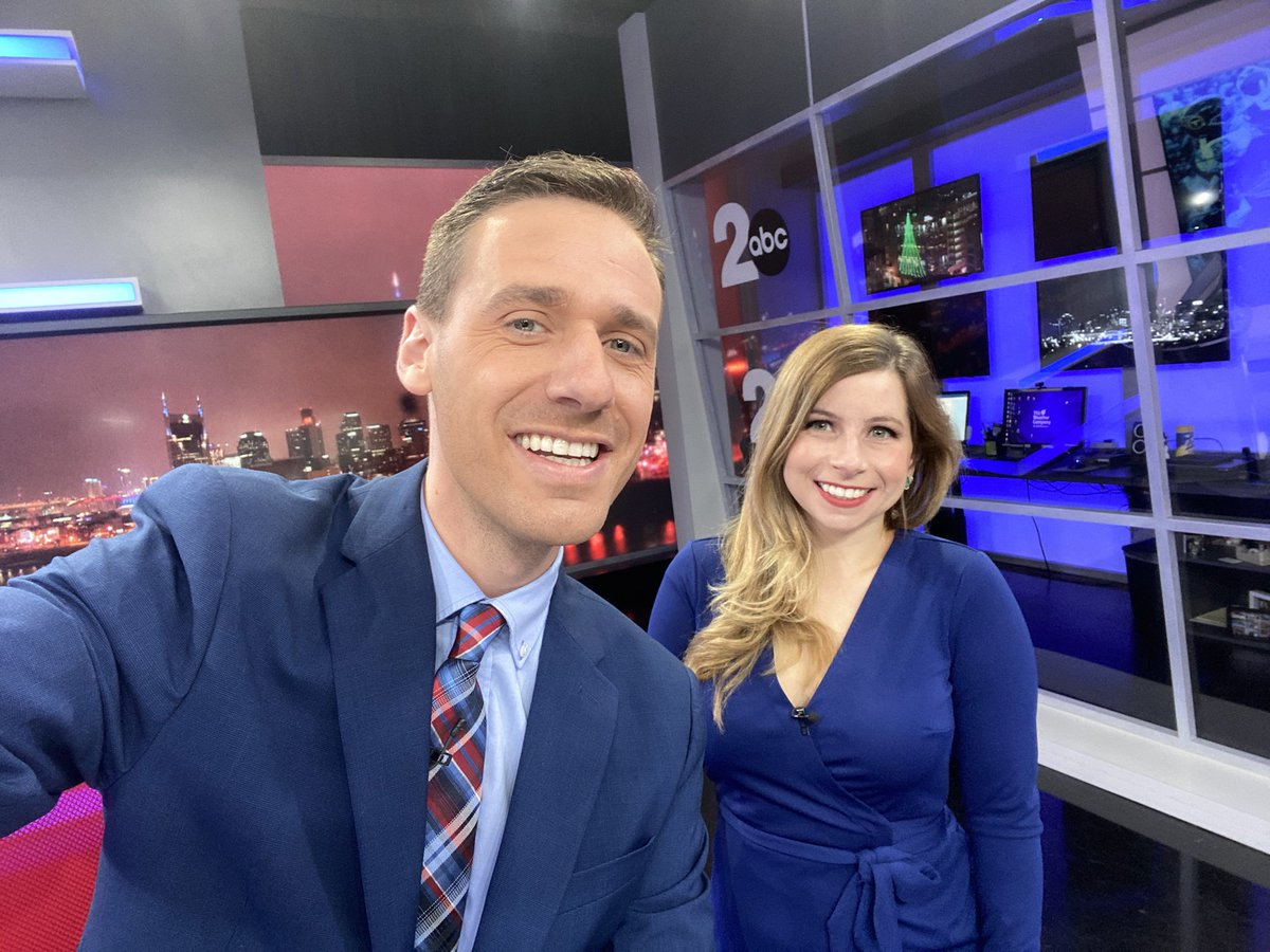 CODE BLUE!!..We are wearing our blue to support the @Titans today. If you're headed to the game, don't forget!..Join us for #GMN from 5-7AM & 9-10AM on @WKRN. @MaryJMays @AlexCorradetti @brookereesetv
