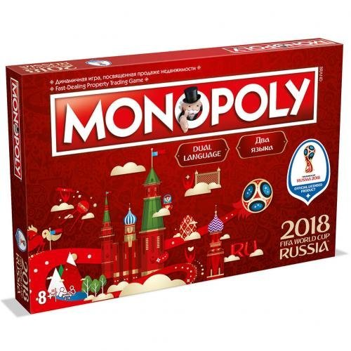 #Movies Monopoly Fifa World Cup 2018 Edition Official Merchandise https://www.memorabiliaitems.co.uk/product/monopoly-fifa-world-cup-2018-edition-official-merchandise/…