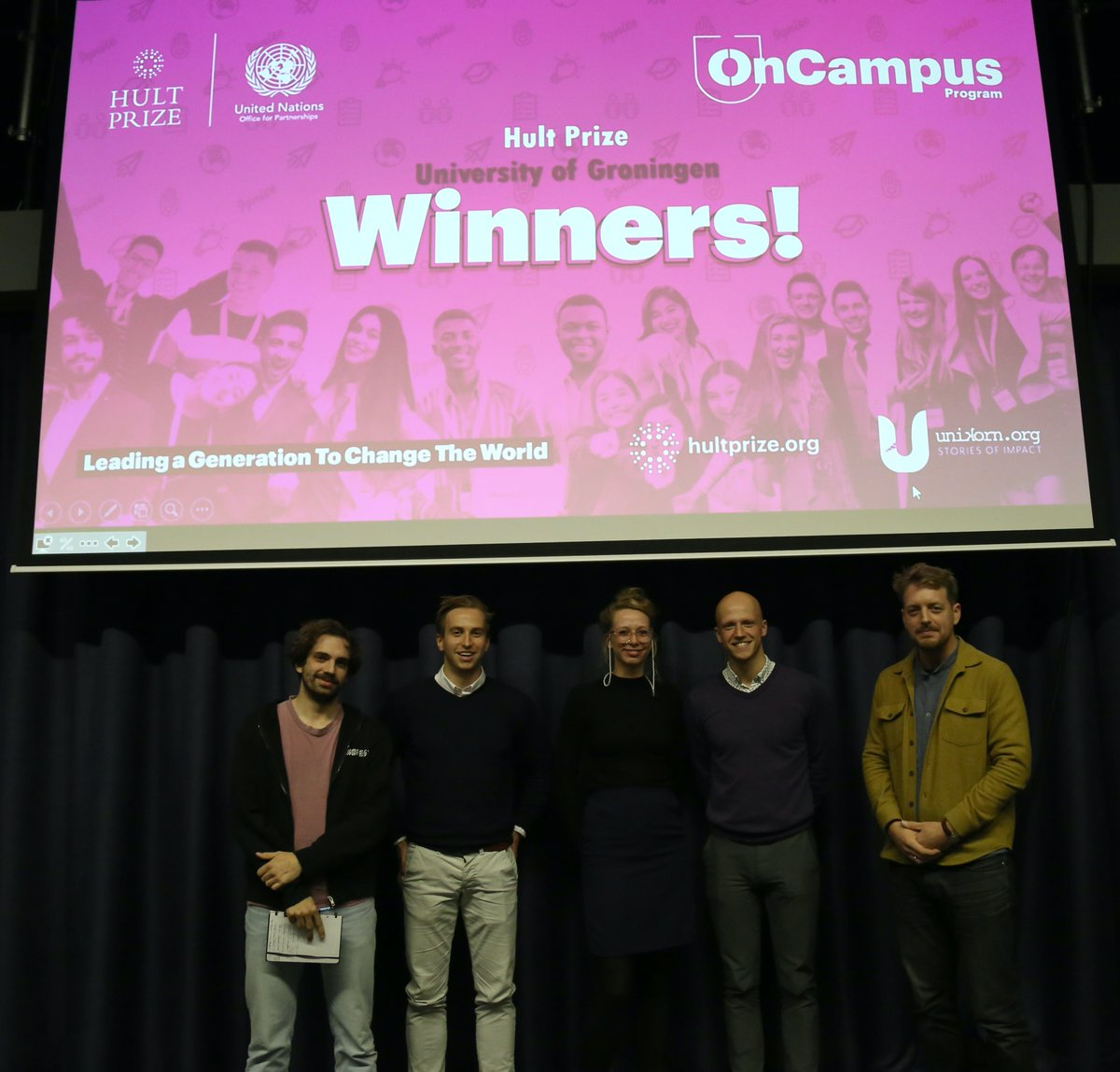 Congratulations to our winning team GaiaFood and our second-place team H2GO 🎉A huge thank you to all our partners, supporters, judges, and teams for their continued support 💗 This event would not have been possible without you!🌟 #HP20 #PeoplePlanetPower #UniversityofGroningen
