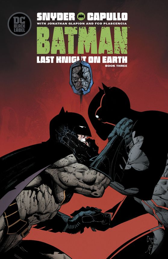 Batman Last Knight On Earth #3 - (W) @Ssnyder1835(A) @jonathanglapion (A/CA) @GregCapullo(VCA) @rafaalbuquerque- in stores this week! https://buff.ly/2KUjer5 - #dccomics pic.twitter.com/mMQe1OQQb1