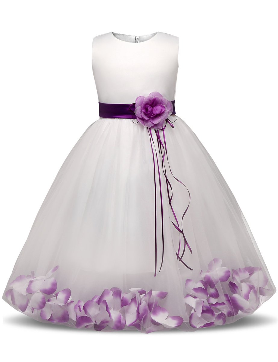 #baby #newbornphotography Pretty Girl`s Viscose Ball Gown for Wedding