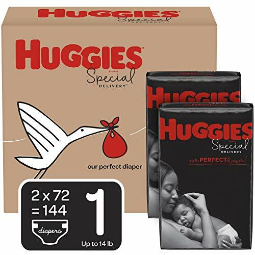 Huggies Special Delivery Hypoallergenic Baby Diapers, Size 1 (8-14 lbs.), 144 Count, Economy Plus Pack #baby
