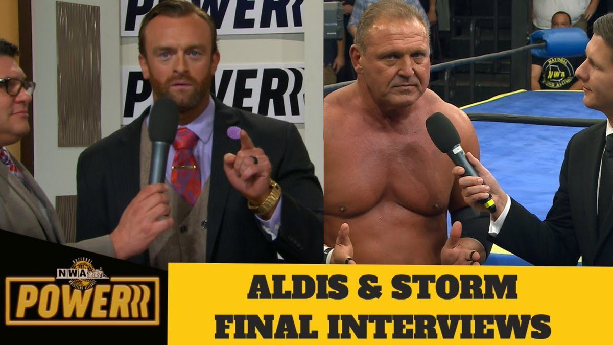 Nick Aldis vs. Tim Storm was the main event of the first episode of #NWAPowerrr that debuted exclusively here on YouTube.  See the full match here - https://youtu.be/aegl1dWAT_8?t=2524 …The  #10poundsofgold #billycorgan #BillyCorganNWA #jimcornette #Nat https://indyworldwrestling.com/nick-aldis-tim-storm-final-interviews-nwa-powerrr-2019/ …