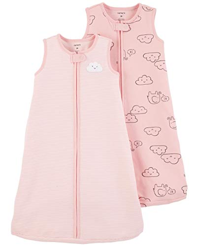 Carter's #Baby 2-Pack #Cotton #Sleepbags (#Pink #Clouds, #Small) - .  #2Pack #Carters
