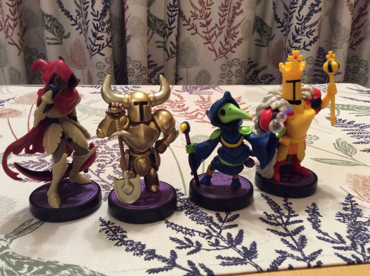 This months Amiibo delivery has a Shovel Knight theme pic.twitter.com/T9JJPyyWgy
