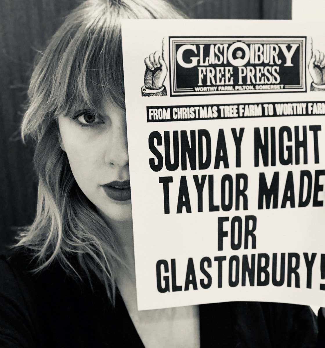 I'm ecstatic to tell you that I'll be headlining Glastonbury on its 50th anniversary - See you there! 💋