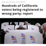 Image for the Tweet beginning: Voters in California getting screwed