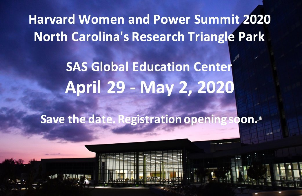 Calling all Harvard Women and Power alumnae! Mark your calendars because the Summit program is coming together.  #Harvardwomenandpower #executiveeducation #continuingeducation #powerfulwomen #womenleaders #genderequality #SASpic.twitter.com/P05cnWKi1x