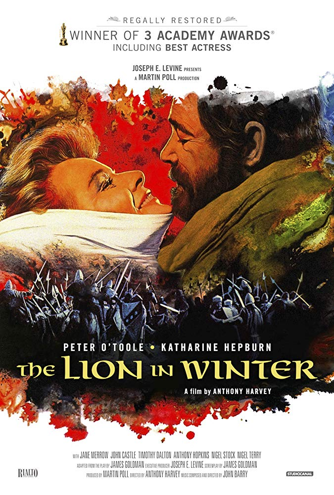 Now watching The Lion In Winter. 'Cos #KatharineHepburn is a force of nature, and it's an overlooked #ChristmasMovie  #ClassicHollywood #NowWatchingpic.twitter.com/5vzDyrAwzH