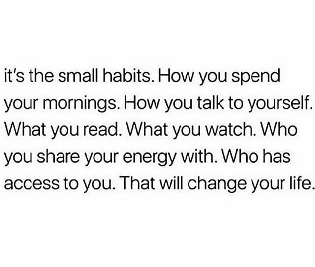 Reposted from @thedivine_3 (@get_regrann) -  Grand Rising and Happy Saturday!  The small little habits make a big difference! Started my morning with affirmations and gratitude! #thedivine3 #divinelyguided #happysaturday #gratitude #affirma… https://ift.tt/2rEH6qvpic.twitter.com/p1EUlV8fsL