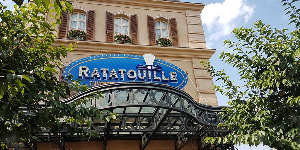 Ratatouille: The Adventure has been temporarily interrupted. On average, an interruption takes 32 minutes. #WaltDisneyStudios #DisneylandParis #DLP