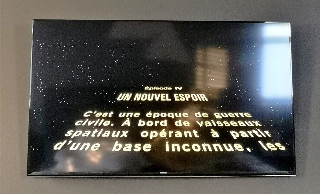 Chainbrain On Twitter Hi Disneyplus No Matter What I Do Star Wars A New Hope Is Opening With French Text Everything Is Set To English Https T Co Q8pkrotewk