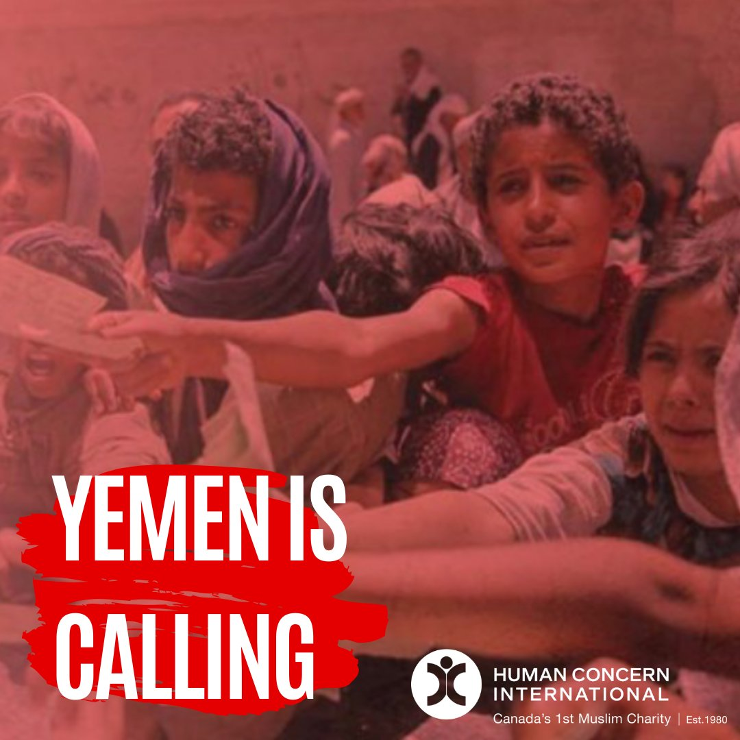 Thank you for all your support for our #YemenRelief during #GivingTuesday. With your help we were able to provide much needed aid to thousands of families on the brink of #starvation. There is still more to do. Learn more: https://www.humanconcern.org/yemen-appeal/