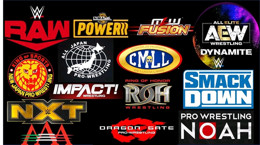 Which show is your favourite???  #AEWDyamite #raw #SDLive  #roh #njpw  #MLWFusion  #IMPACTonAXSTV  #dragongate  #cmll #nxt #aaa #Noah