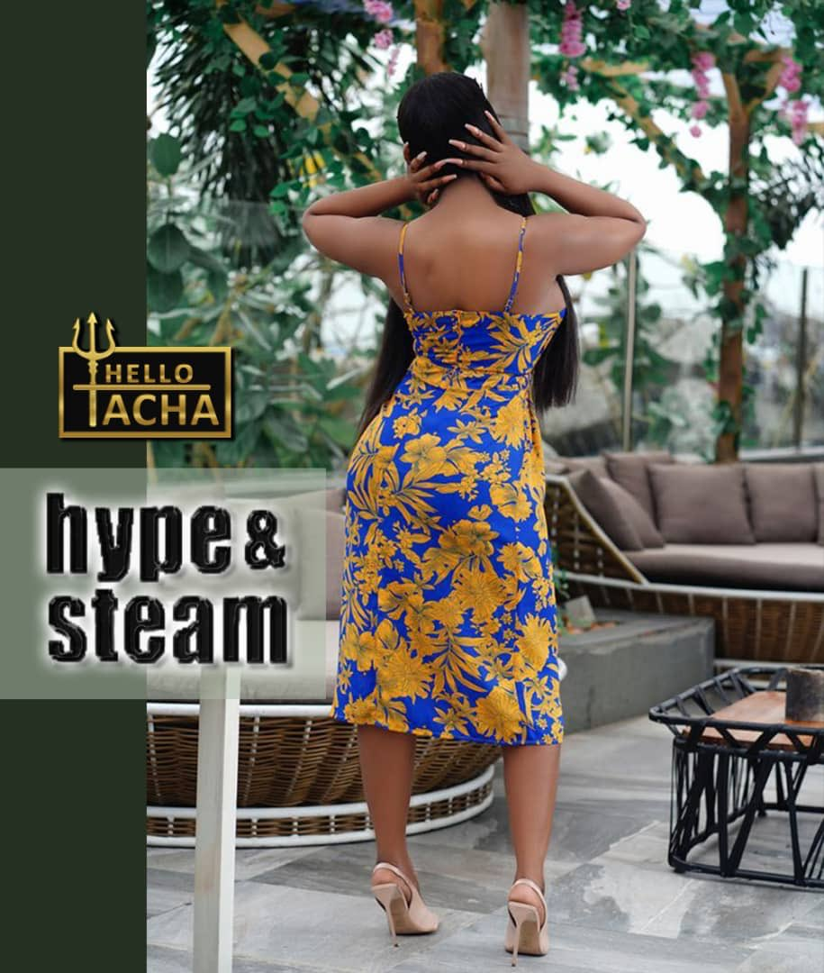 She has the HYPE aka CLOUTACHA, She definitely has the Steam aka The ENERGY GODDESS (Tatachi,Hot, peppery) So it's only right @hypeandsteamng gets Her on Board 🔱 #TachaNailedIt