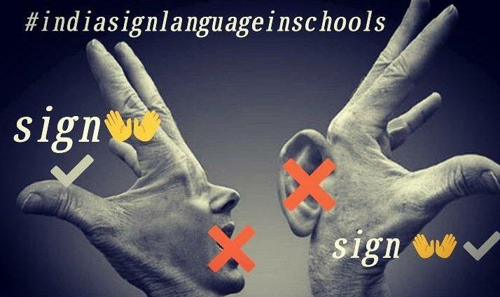 I support#signlanguageinschools#indiansignlanguageinschools@narendramodi@Minister_Edu@AmitShah@accessmantra@swachhbharat@socialpwds@MSJE_AIC@HRDMinistry#school#deaf