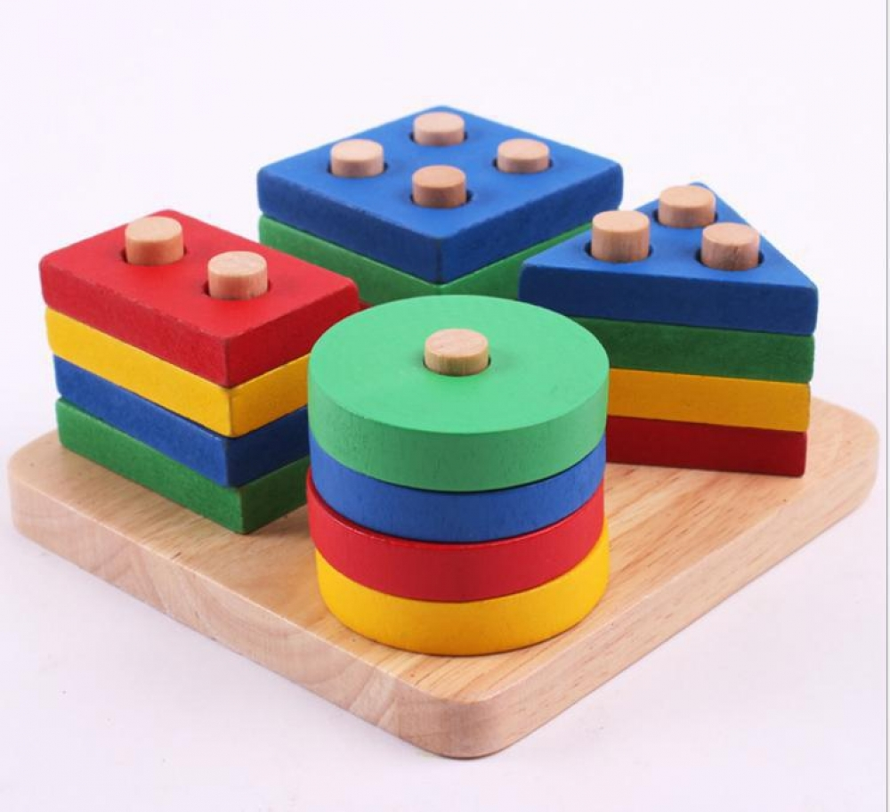 #toycollector #homeeducation #likeforlike #doman #glenndoman #instalike Early Educational Geometric Blocks Board