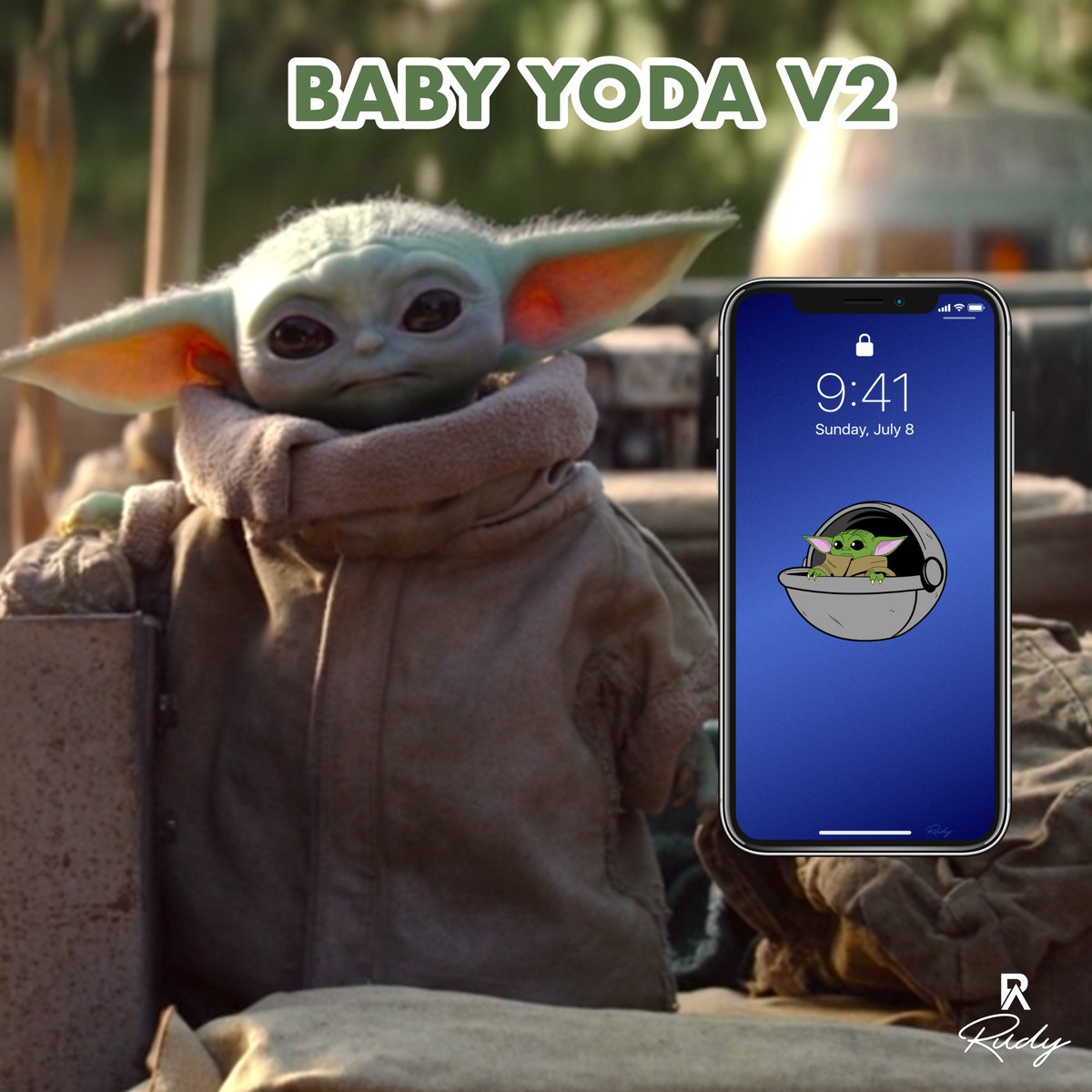 Rudy On Twitter New Wallpaper Baby Yoda V2 Only On Sale Wallpapers Wallphone Artwork Art Abstract Abstractart Abstractpainting Digitalart Digitalpainting Digitalartwork Luxury Iphone Iloveapple Iphone11promax Iphone11